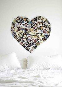 Украшение спальни ко Дню Валентина
