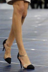 Обувь с прозрачными элементами