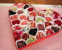 Подарок-сердце на День святого Валентина