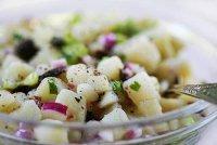 Салат из картошки и редиса