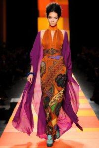 Jean Paul Gaultier обратился к Дальнему Востоку