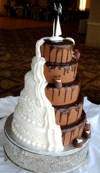 Как выбрать идеальный свадебный торт?
