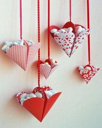 Корзинки-сердечки на День святого Валентина