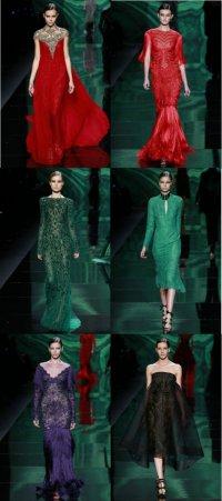 Осенняя коллекция одежды от Monique Lhuillier на неделе моды в Нью-Йорке