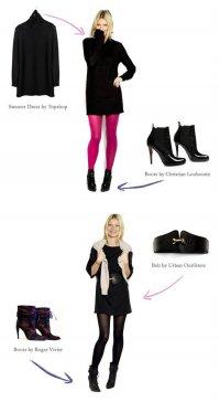 С чем носить маленькое черное платье? Советы от Гвинет Пэлтроу