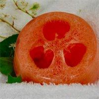 Антицеллюлитное мыло с люфой