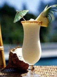 Коктейль «Сумасшедший кокос»