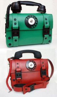 Telephone bag: портфель-телефон в стиле стимпанк