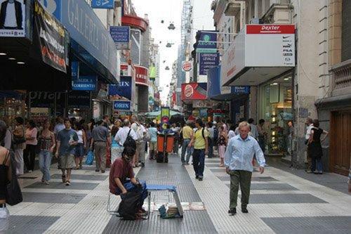 Шоппинг во время отдыха: Аргентина