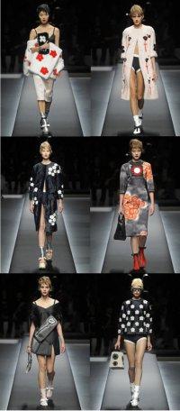 Коллекция одежды от Prada на неделе моды в Милане