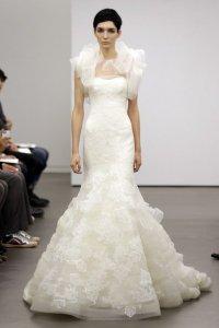 Vera Wang представила свадебные платья 2013
