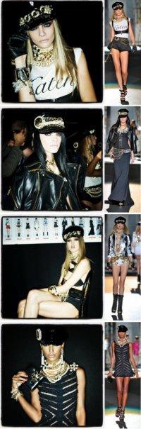 Осенняя коллекция Dsquared2 на неделе моды в Милане