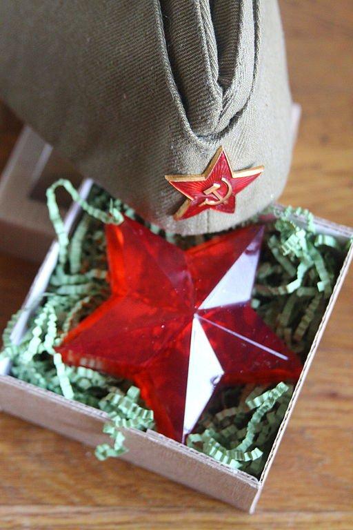 Идея подарка на 23 февраля для мужчин: мыло-звезда