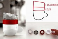 Компания Lunar представляет портативную кофеварку Piamo espresso maker