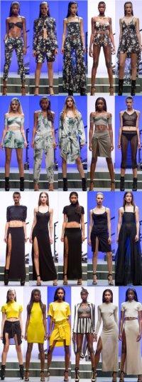 Весенне-летняя коллекция одежды Rihanna для River Island