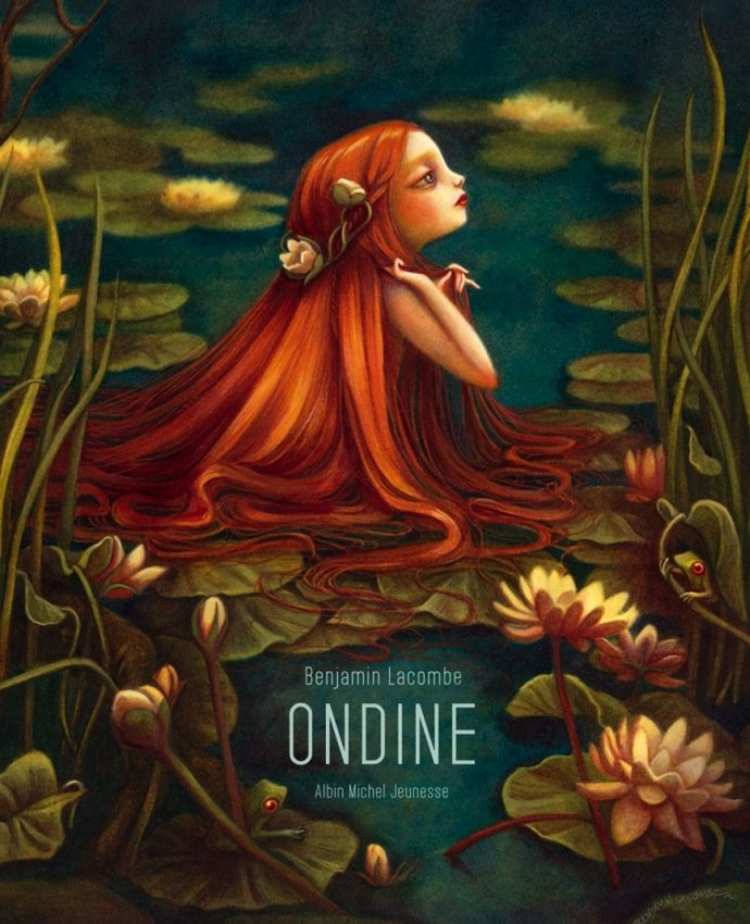 «Ундина» от французского писателя и художника Бенджамина Лакомба