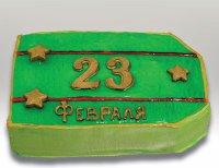 Забавный торт на 23 февраля