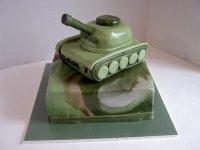 Идеи на 23 февраля: оформление торта
