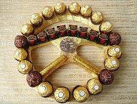 Руль из конфет на 23 февраля