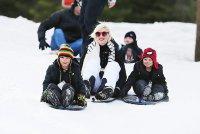 Зимний отдых Гвен Стефани с сыновьями