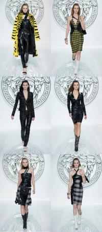 Осенняя коллекция Versace 2013 на неделе моды в Милане