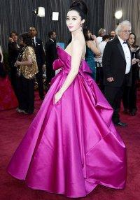 Красная ковровая дорожка Оскар-2013: Фань Бинбин