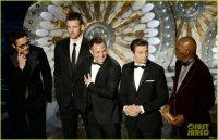 Роберт Дауни-младший на вручении Оскар 2013
