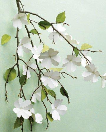 Детские поделки к 8 Марта: цветущая ветвь