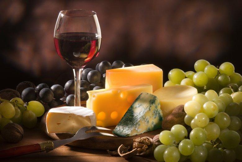Вино и сыр - идеальная пара