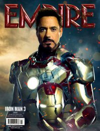 Новый характер-постер «Железного человека 3»