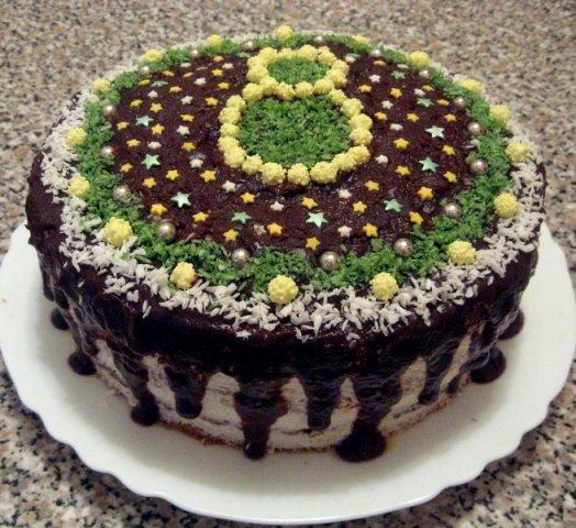 Праздничная «одежка» для торта