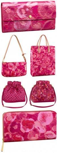 Розовые сумочки из новой коллекции Louis Vuitton