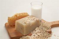 Рецепт овсяно-медового мыла