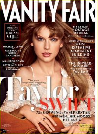 Тейлор Свифт на обложке апрельского номера Vanity Fair