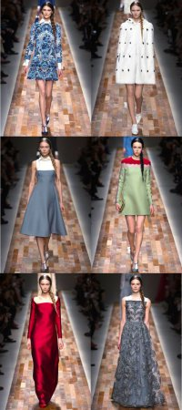 Коллекция Valentino на неделе моды в Париже