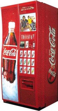 Секреты автомата по продаже кока-колы