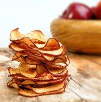 Полезный перекус: яблочные чипсы