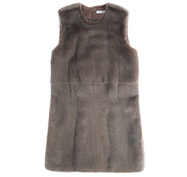 Меховое платье J. W. Anderson