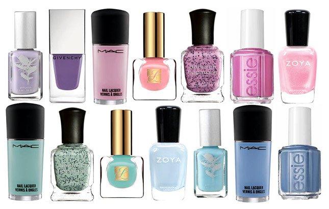 Модные цвета лаков для ногтей: весна 2013
