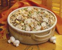 Блюда в пост: плов с грибами