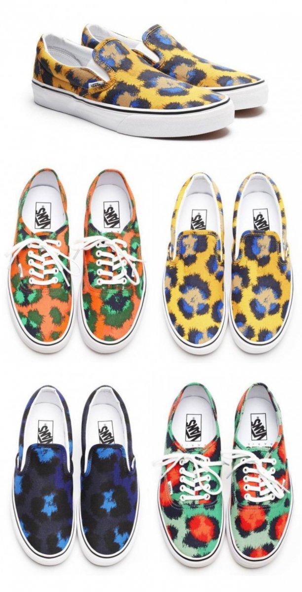 Новая коллекция Vans x Kenzo 2013