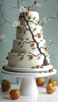 Свадебный торт «Яблоня»