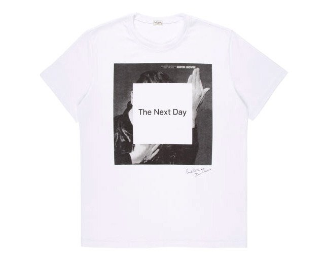 Пол Смит выпустил футболку для Дэвида Боуи