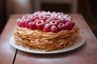 Масленица-2013: блинный торт с ягодами