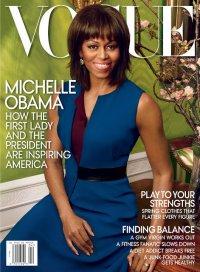 Мишель Обама на обложке журнала Vogue: апрель 2013
