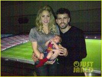 Шакира и Жерар Пике поделились фотографией своего сына Милана