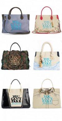 You Can`t Fake Fashion - новая коллекция  сумок от CFDA и eBay