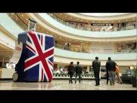 Гигантская постановка в центре Москвы от компаний British Airways и VisitBritain
