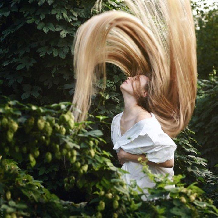 Маска с медом и корицей для ускорения роста волос