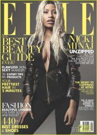 Ники Минаж на обложке журнала Elle (апрель 2013)
